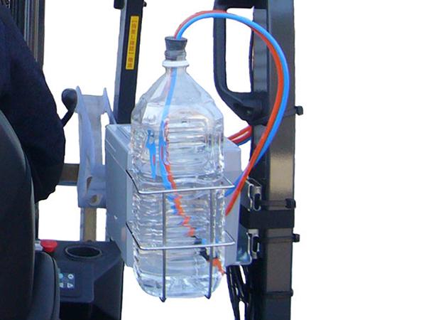 エヴァポ・クーラー ペットボトルを給水タンクとして利用