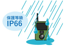 ターゲットスカウト TS4200 保護等級IP66