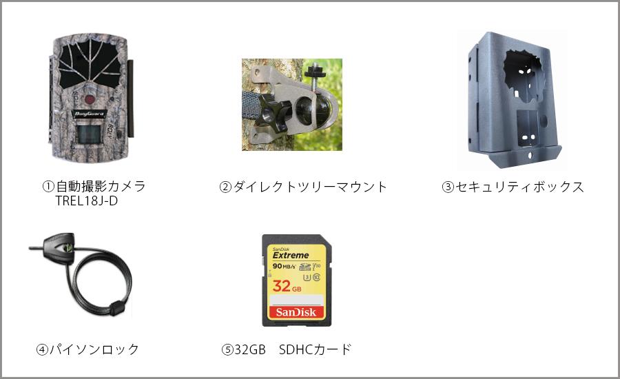 ターゲットスカウトTS500s パッケージ構成品