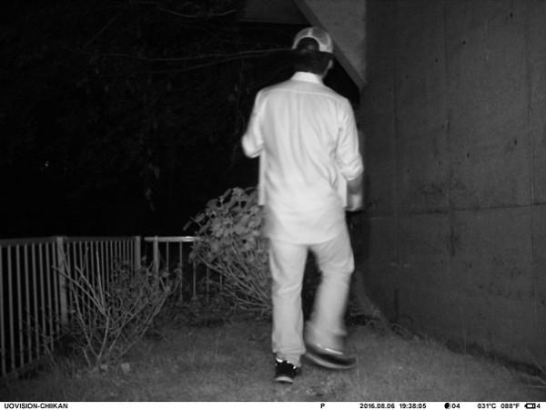 TREL3G-R 夜間に撮影
