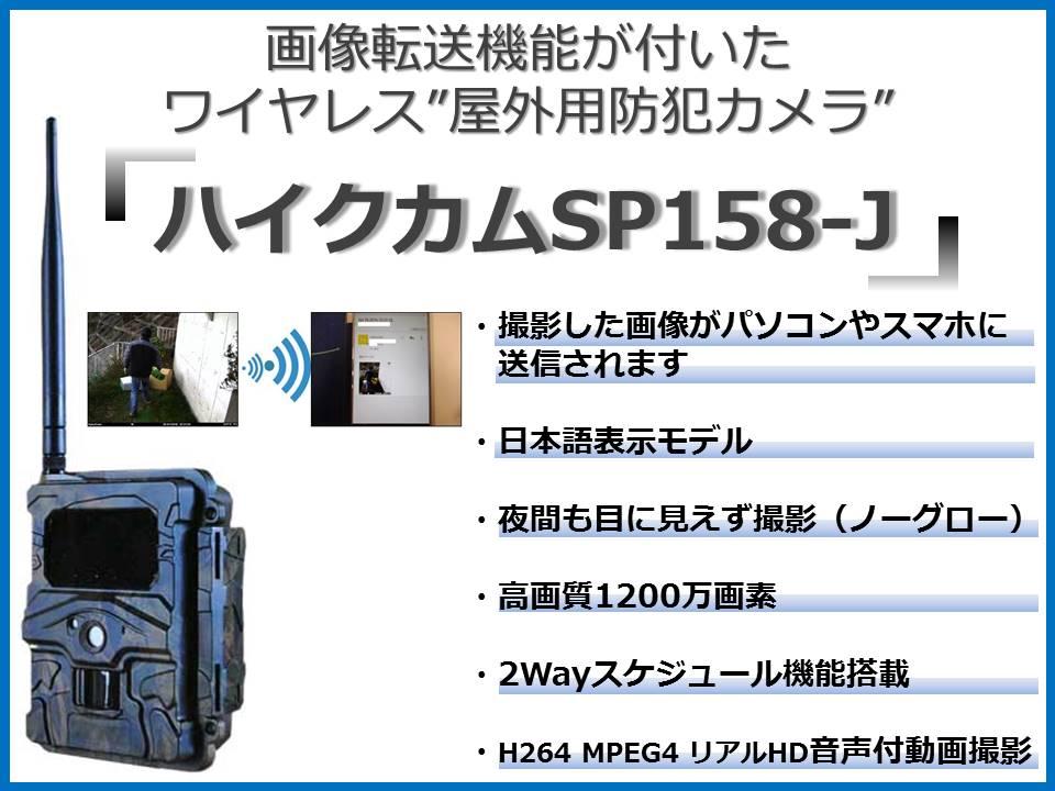 ハイクカムSP158-J トップ絵