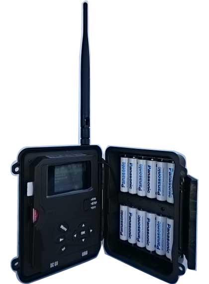 ハイクカム SP108-J 長時間バッテリー稼働