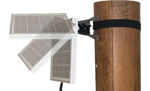 角度調整可能なソーラーパネル