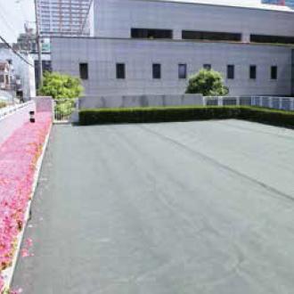らくらく砂利下防草シート200g/㎡ 設置