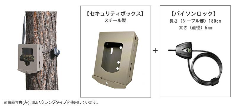 ハイクカムSP2 セキュリティボックス