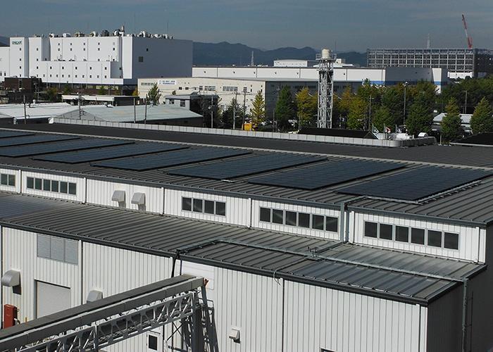太陽光発電パネル取付イメージ写真